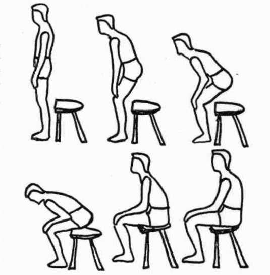 535x545 Figure 2. Normal Person Sitting Flexing Hips, Oampp Digital