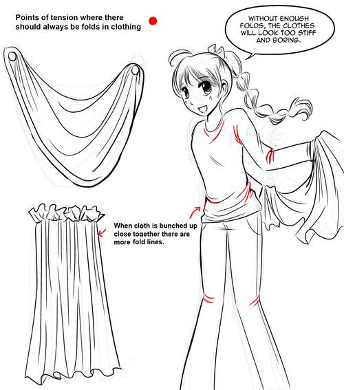 500x567 How To Draw Manga How To Draw Manga Clothes