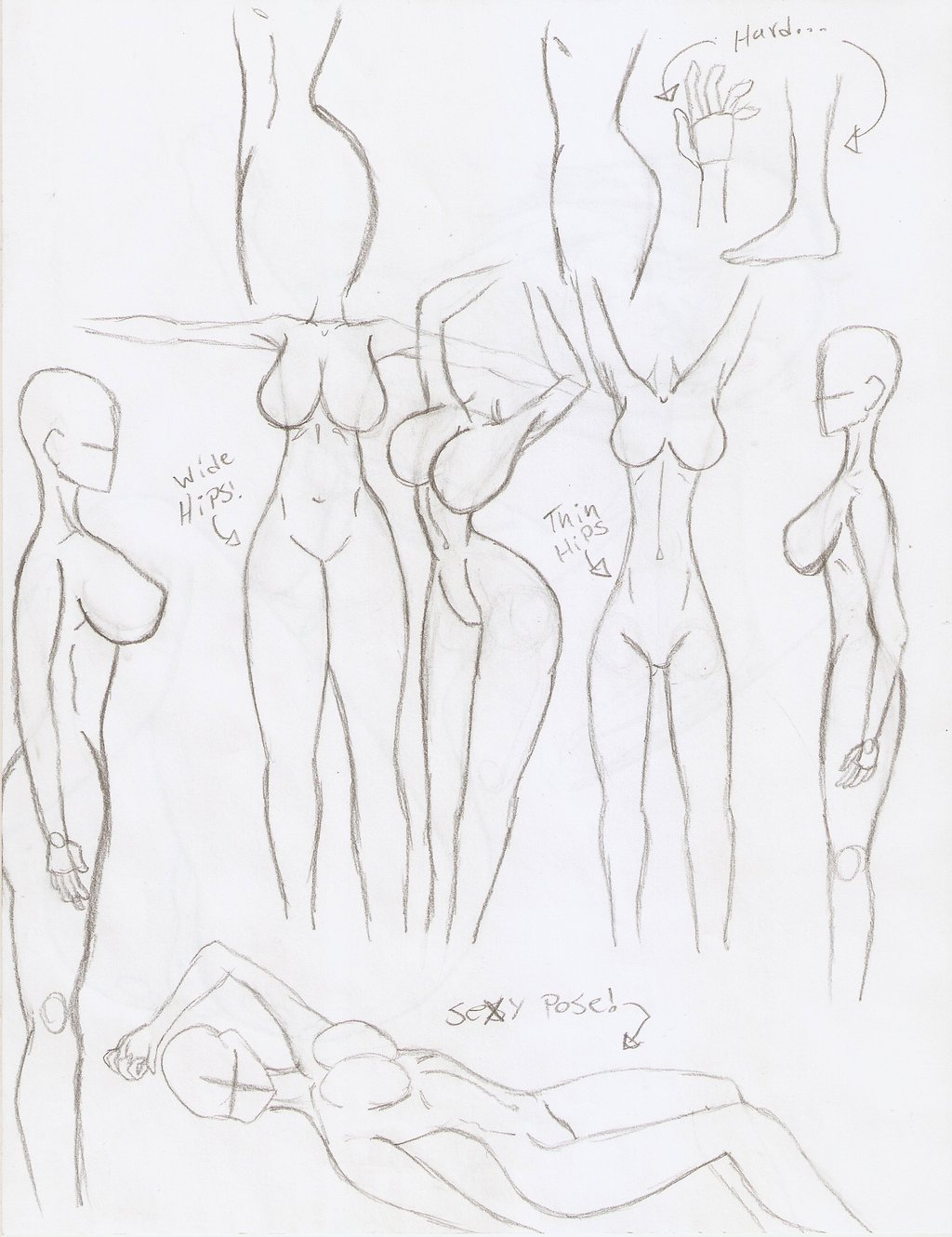 1024x1330 Doodles Hips And Fem Body By Tato Kun92