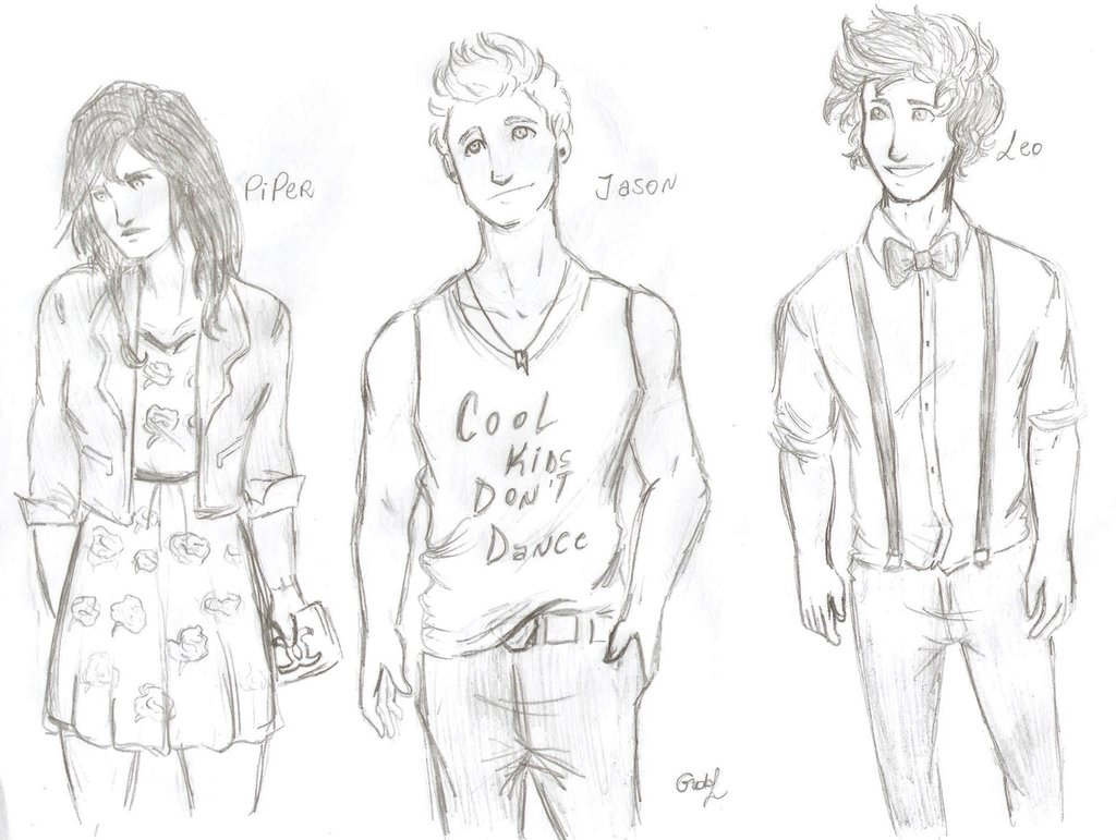 1024x771 Pjo In A Hipster Version 2 By Odairwho