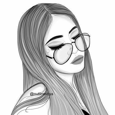 463x463 310 Best Chicas (Outlines) Images On Drawing Ideas
