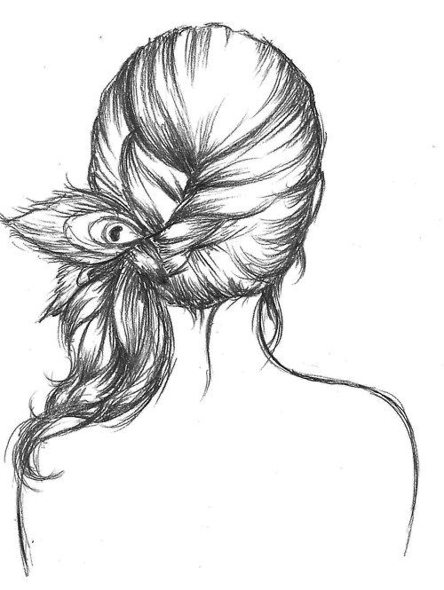 500x665 Hipster Girl Drawing, Teckningar And Tumblr