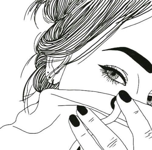 500x494 Pictures Cool Drawing Outlines,