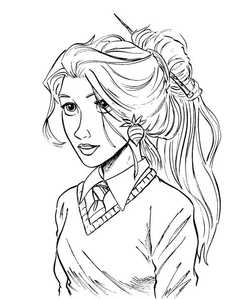 Hipster Girl Drawing Tumblr at