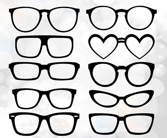 570x473 Hipster Glasses Svg