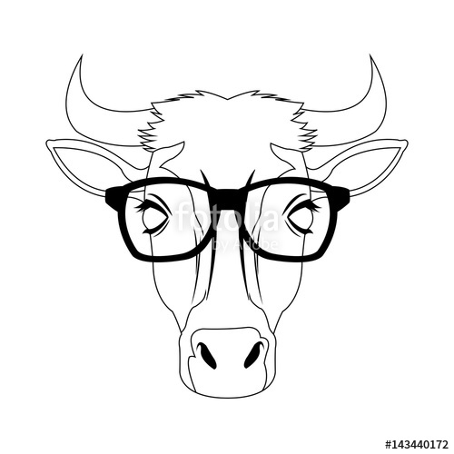 Hipster Glasses Drawing At GetDrawings