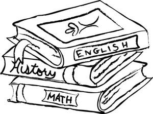 300x225 History Clipart School Book