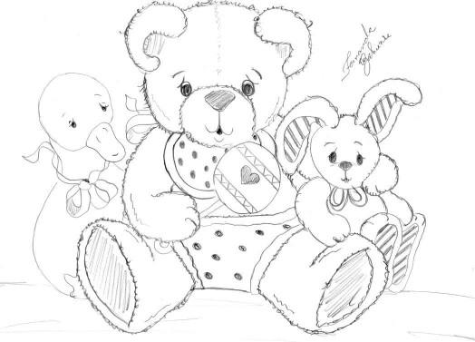524x377 Pin By Jesania Paula On Animais Pintura, Bears