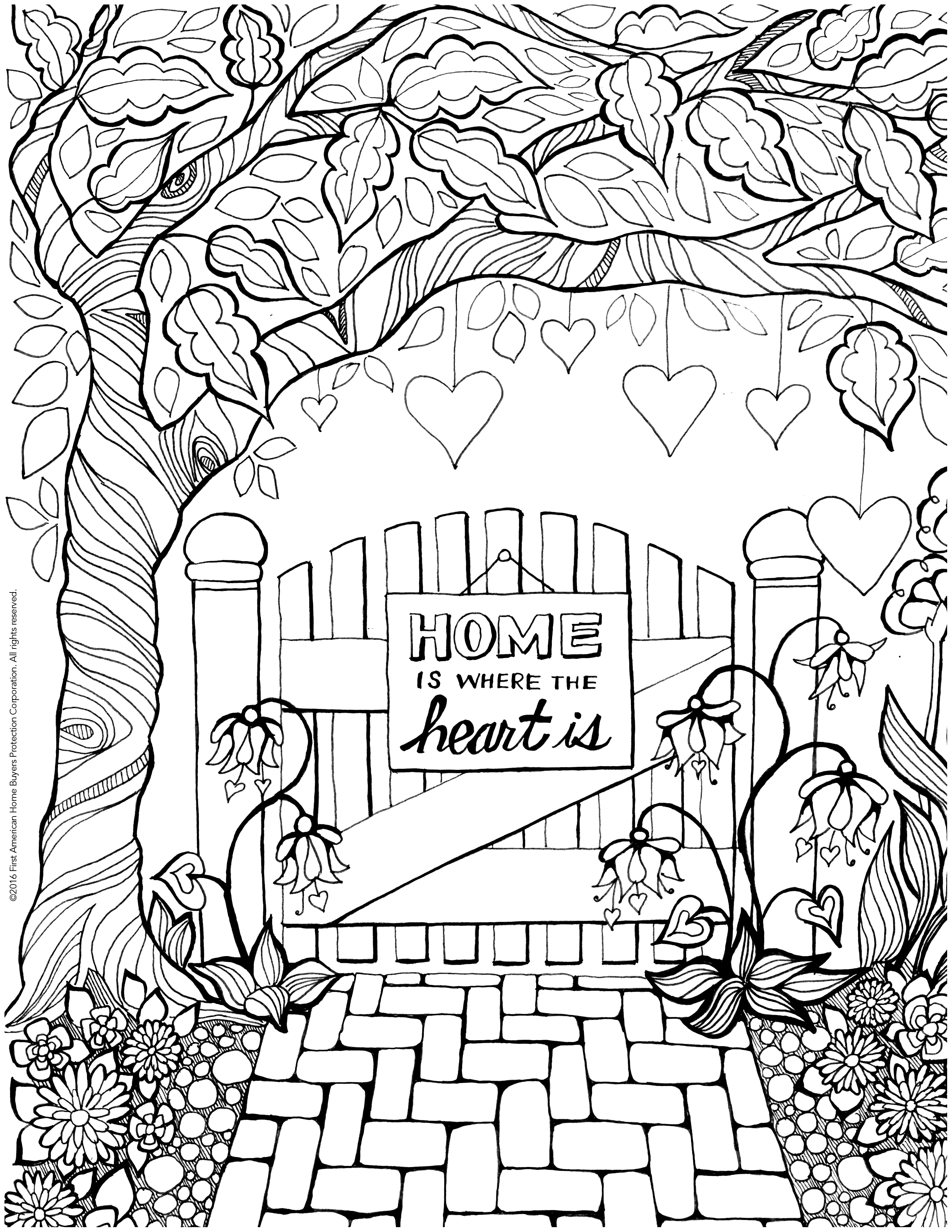 2550x3300 Escape With Coloring Home Care Buzz Hobbies