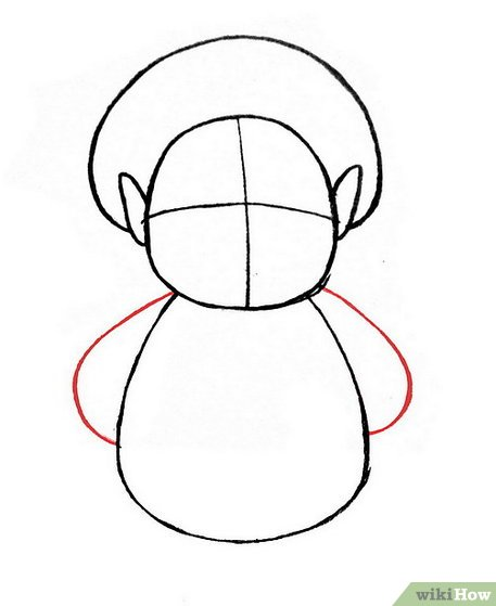 457x559 How To Draw A Hobbit 9 Steps (With Pictures)
