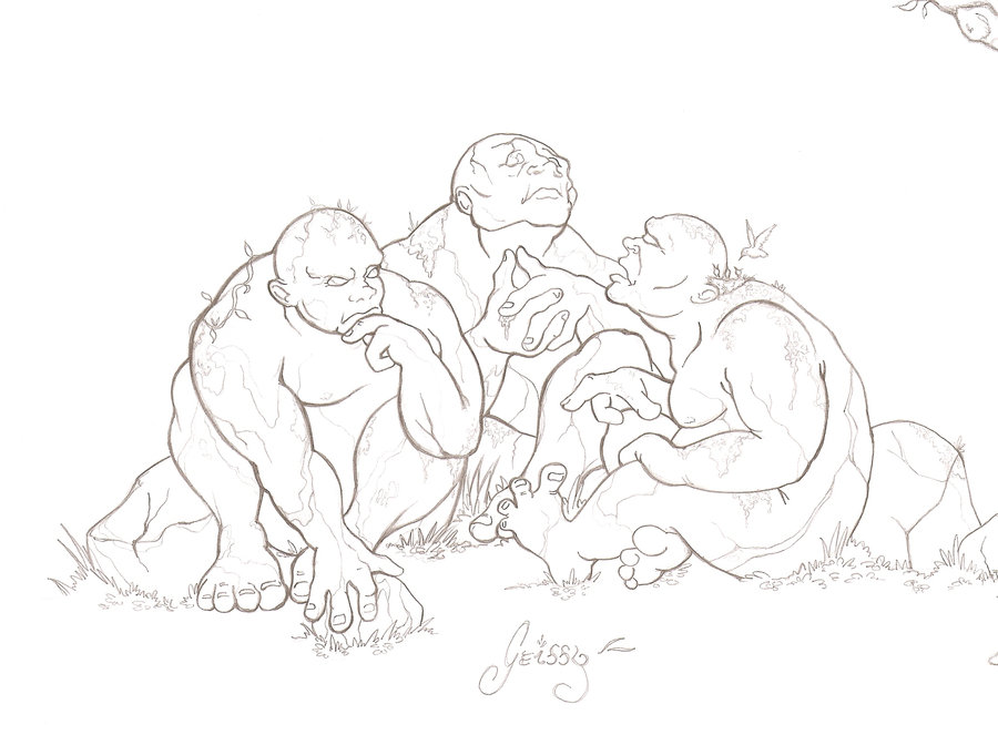 900x663 Trolls Of The Hobbit By Geissybr