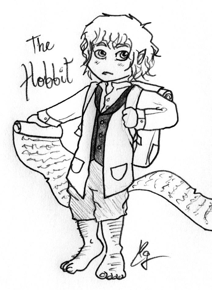 694x950 The Hobbit By Kurocleoo777