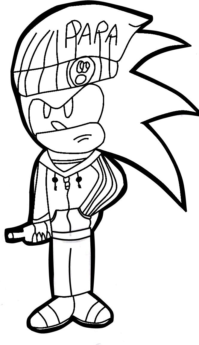 665x1153 Sonic Hobo By Almir The Hedgehog