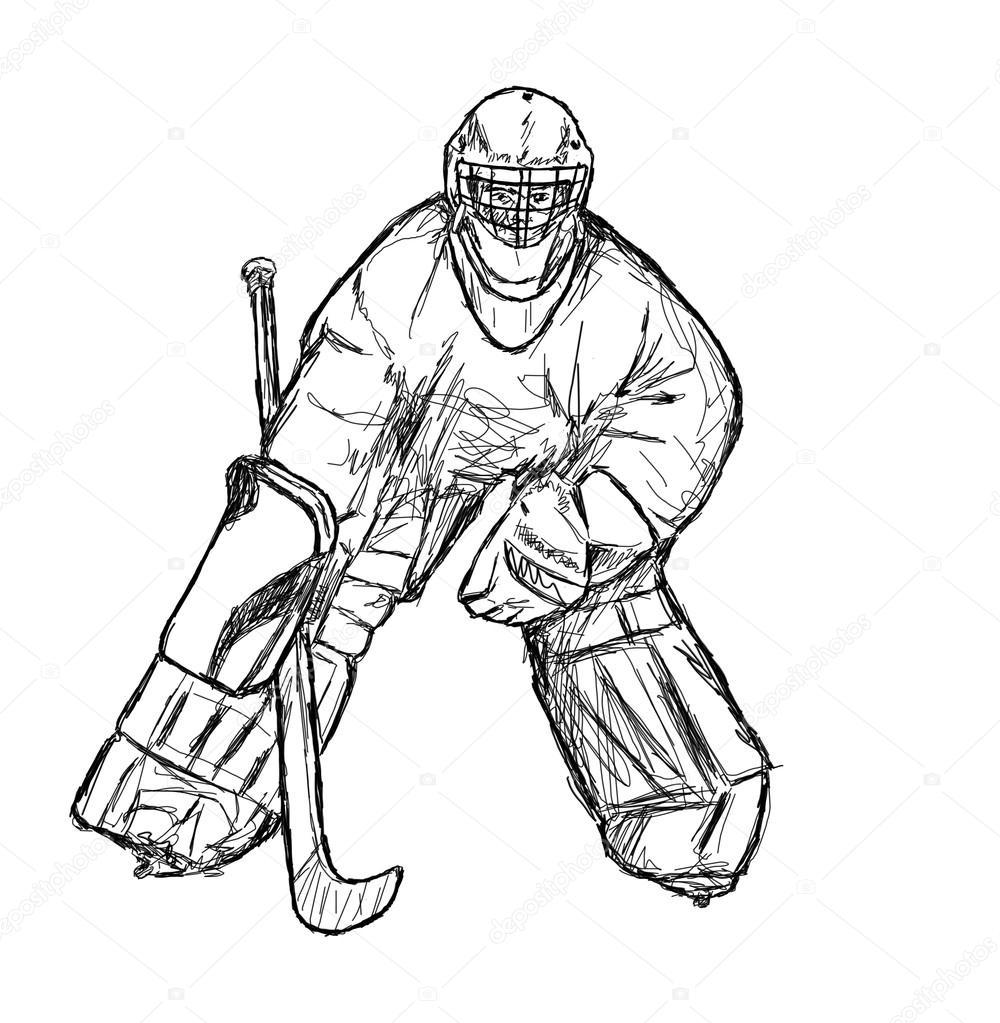 1000x1023 Hockey Player Stock Photo Rorem