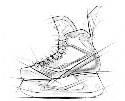 524x426 Easton Mako Hockey Skates Home Decor Hockey