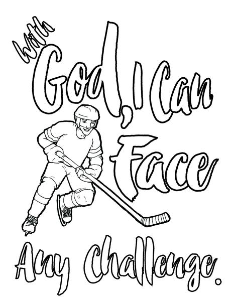 464x600 Ice Hockey Coloring Page Children's Ministry Deals