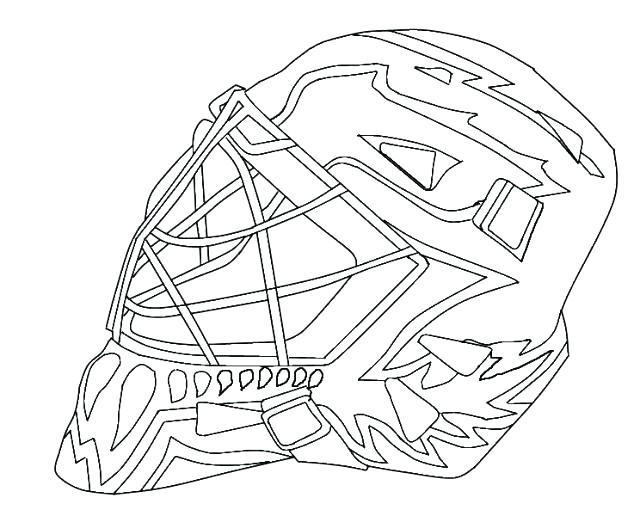 hockey goalie drawing at getdrawings  free download