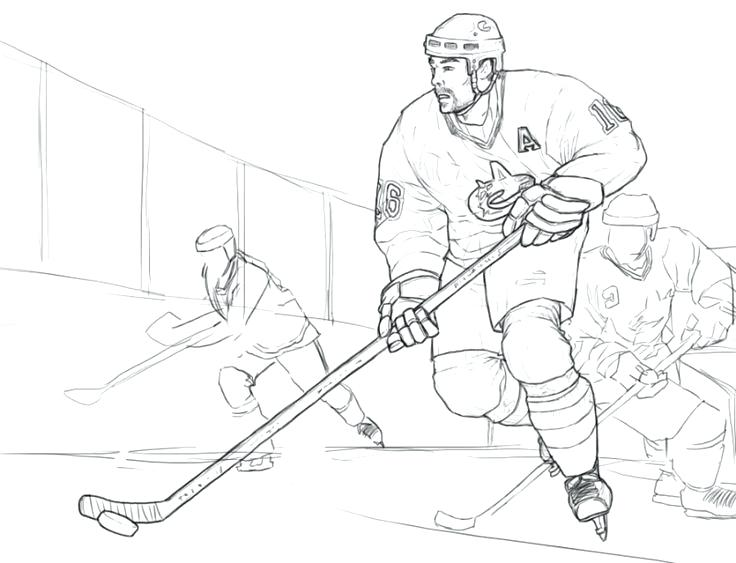 736x563 Ice Hockey Coloring Pictures Ice Hockey Coloring Pages