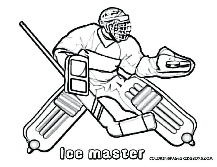 736x569 Nhl Coloring Book And Hockey Color Pages Hockey Coloring Pictures