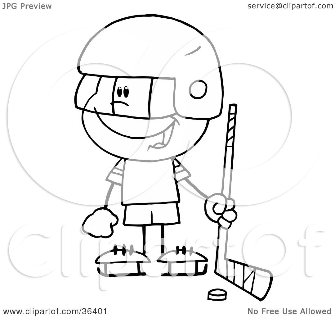 1080x1024 Clipart Illustration Of A Black And White Outline Of A Little Boy