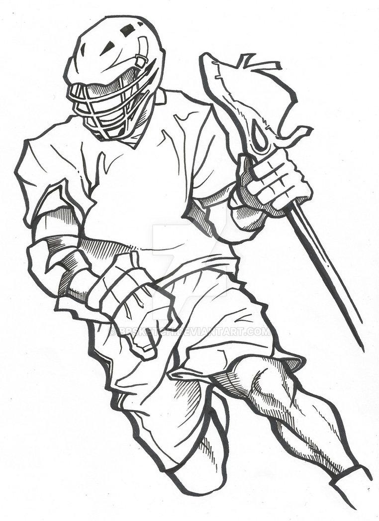 762x1048 Hockey Net Drawing