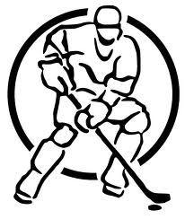 206x244 Hockey Net Drawing