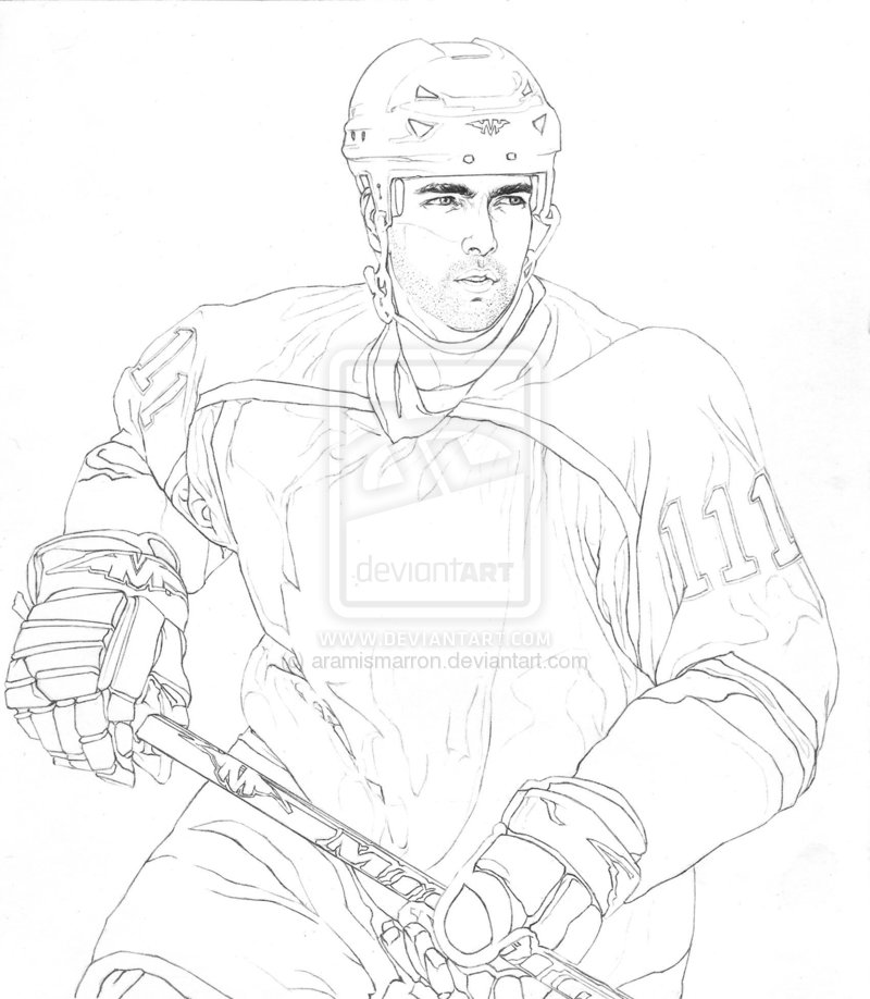 800x918 Hockey Line Art Ice Hockey Player Line Art Aramismarron Cameo