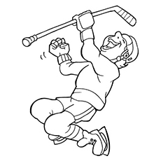 230x230 Top 10 Free Printable Hockey Coloring Pages Online