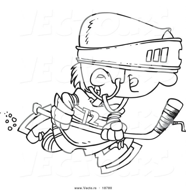 618x630 Elegant Coloring Pages Hockey 96 With Additional Free Colouring