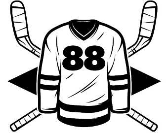 340x270 Hockey Logo 6 Puck Helmet Player Stick Mask Pads Arena Ice