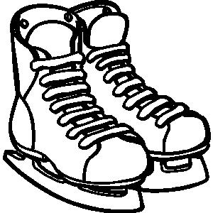 300x300 Ice Hockey Clipart Black And White