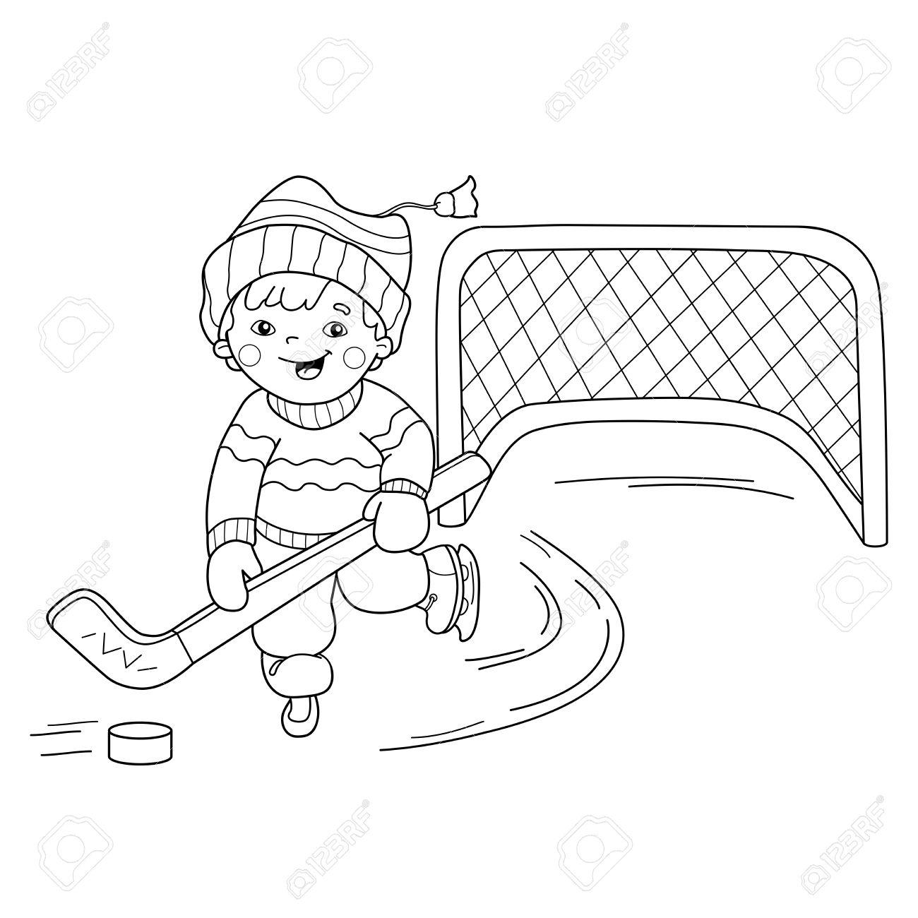 Fantástico Hockey Para Colorear Páginas Nhl Imagen - Ideas Para ...