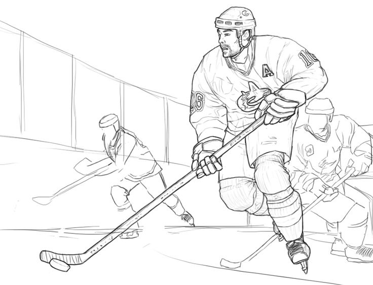 736x563 Best Hockey Drawing Ideas On Hockey Room, Hockey