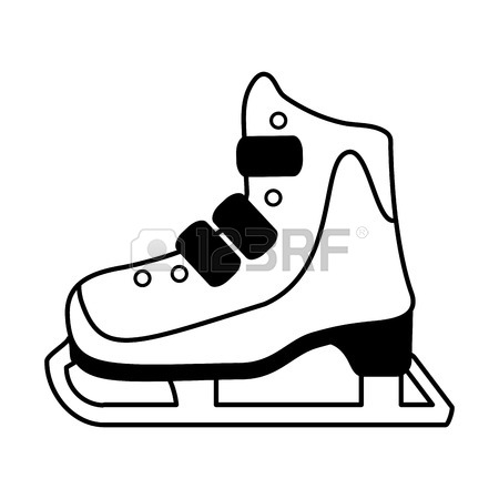 450x450 1,101 Ice Hockey Shoes Stock Vector Illustration And Royalty Free