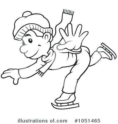 400x420 Ice Skate Outline Ice Hockey Skate Drawings Sketch Coloring Page