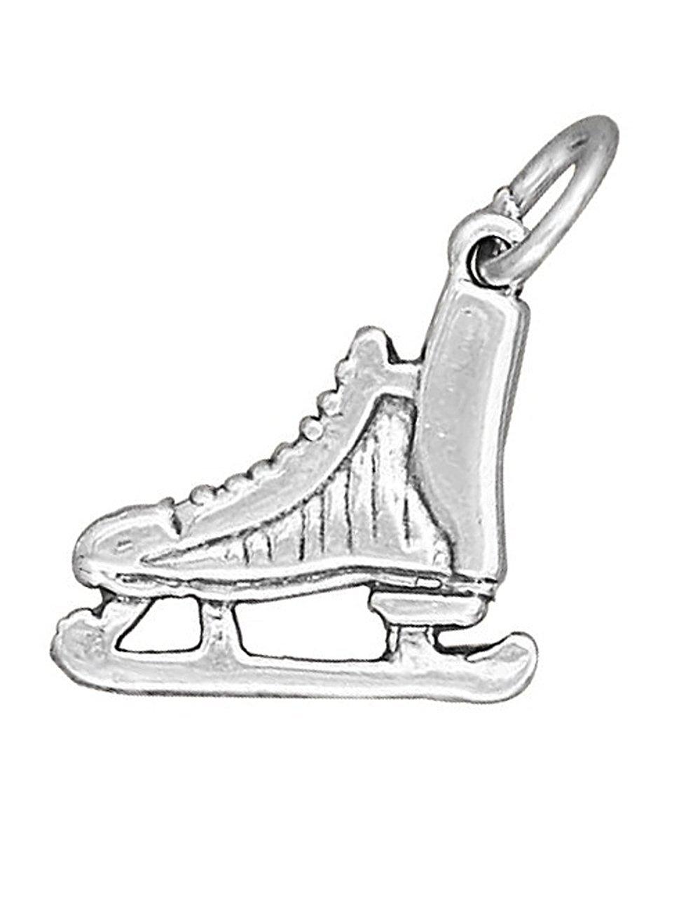 969x1300 Sterling Silver 16 Boys 1.2mm Box Chain Hockey Ice