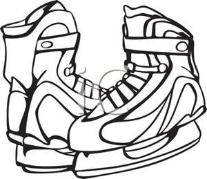 300x259 Set Of Ice Hockey Skates