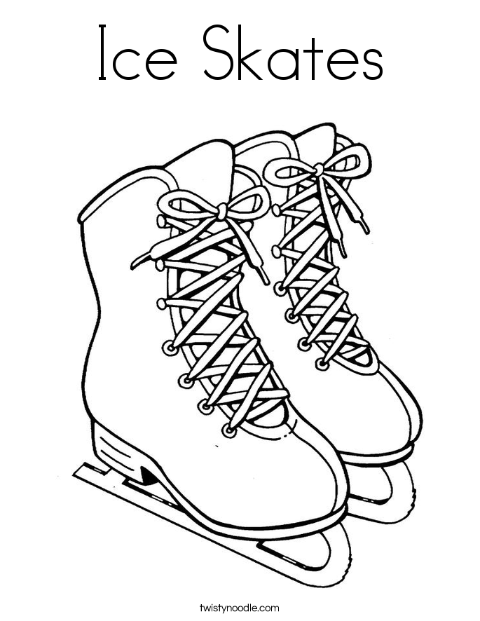 image about Hockey Skate Template Free Printable called Hockey Skates Drawing at  Free of charge for specific