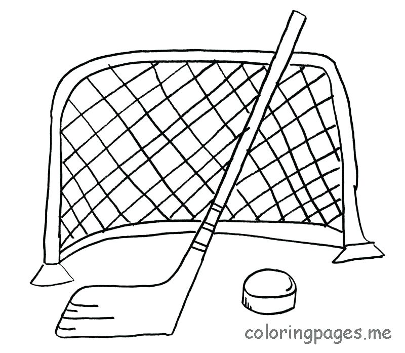 800x697 Hockey Coloring Pages Ice Hockey Colouring Page 2 Field Hockey