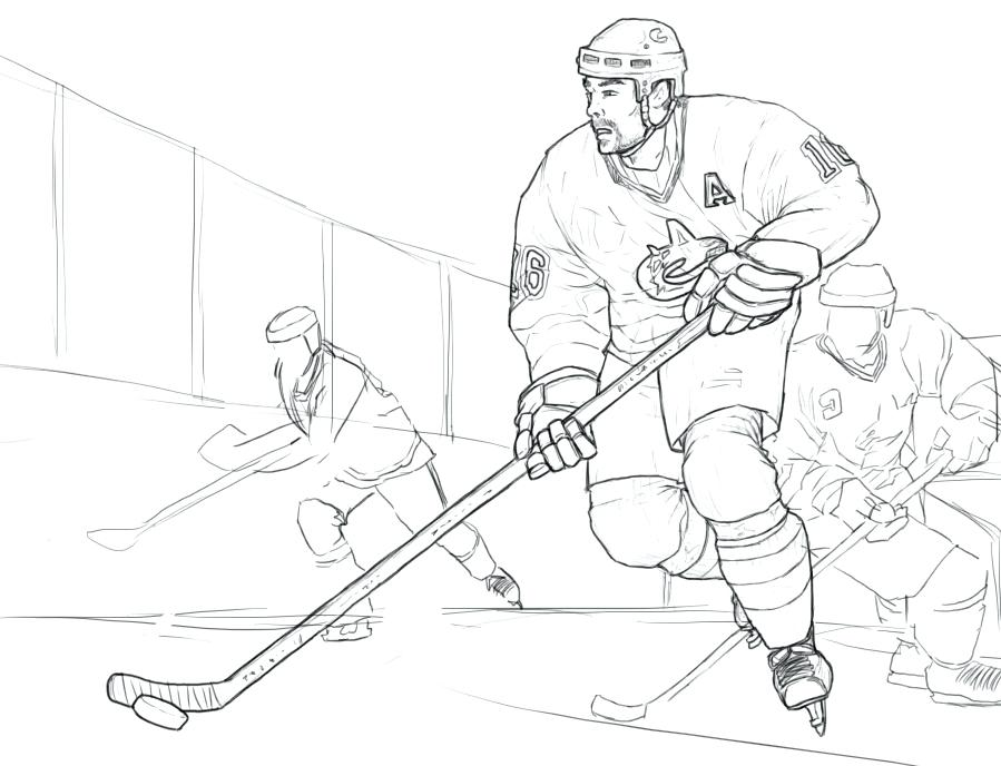 899x688 Hockey Coloring Pages Ice Hockey Colouring Page 2 Field Hockey