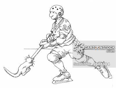 400x303 Ice Hockey Stick Cartoons And Comics