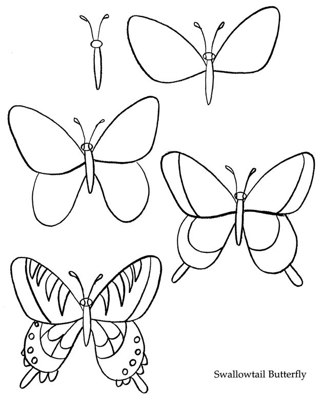 632x770 How To Draw Insects Hoe Teken Ik Stappenplannen