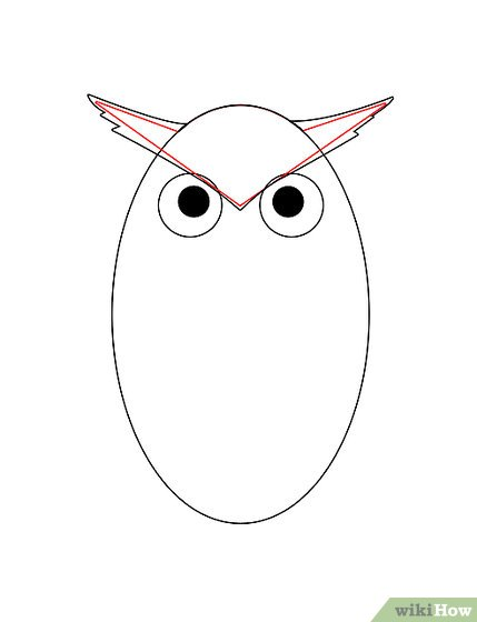 429x560 How To Draw An Owl (With Pictures)