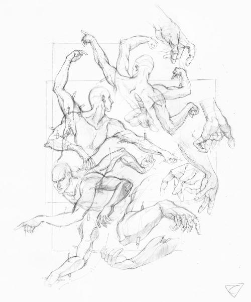 500x601 Drawing Dynamic Hands Tumblr