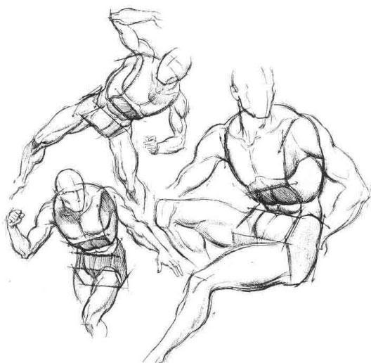 528x516 Durer Figure Drawings