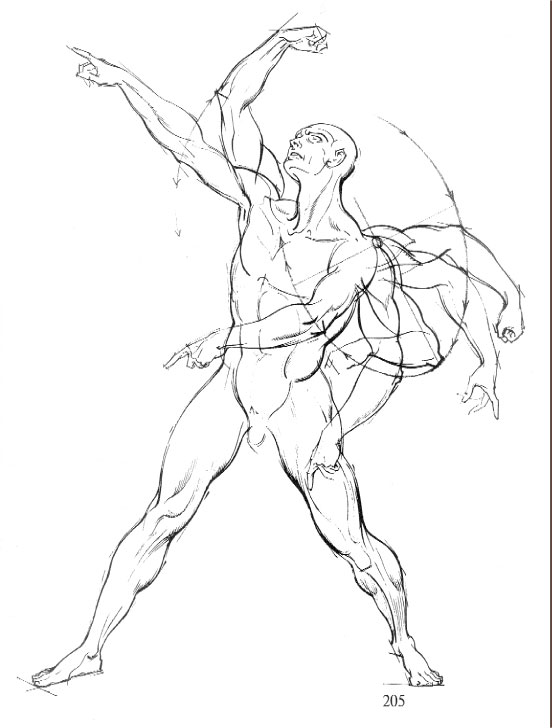 552x728 Dynamic Figure Drawing Books Burne Hogarth