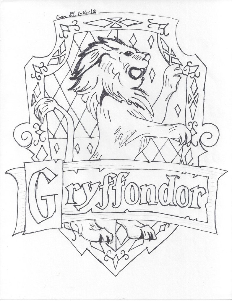 785x1017 Gryffindor House By Hyperlikemomiji22