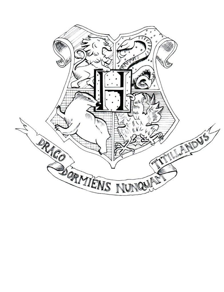 783x1020 Hogwarts Castle Coloring Page Hogwarts Crest Coloring Page