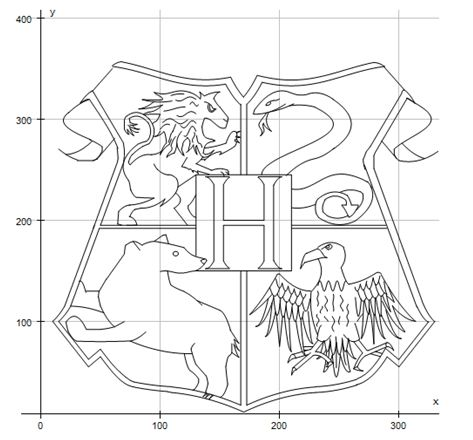 473x440 Hogwarts Crest By Ln0110010101110011