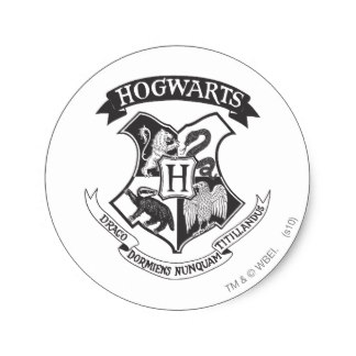 324x324 Hogwarts Stickers Zazzle